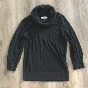 Merona black cowl neck sweater